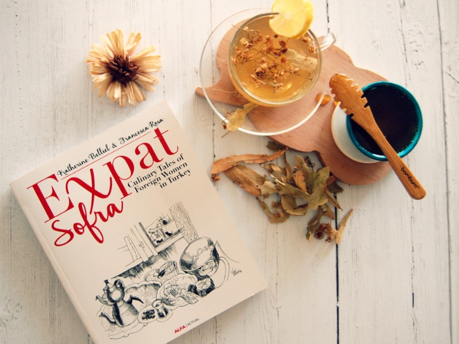 Turkish herbal tea, ıhlamur and new book the 'Expat Sofra'.