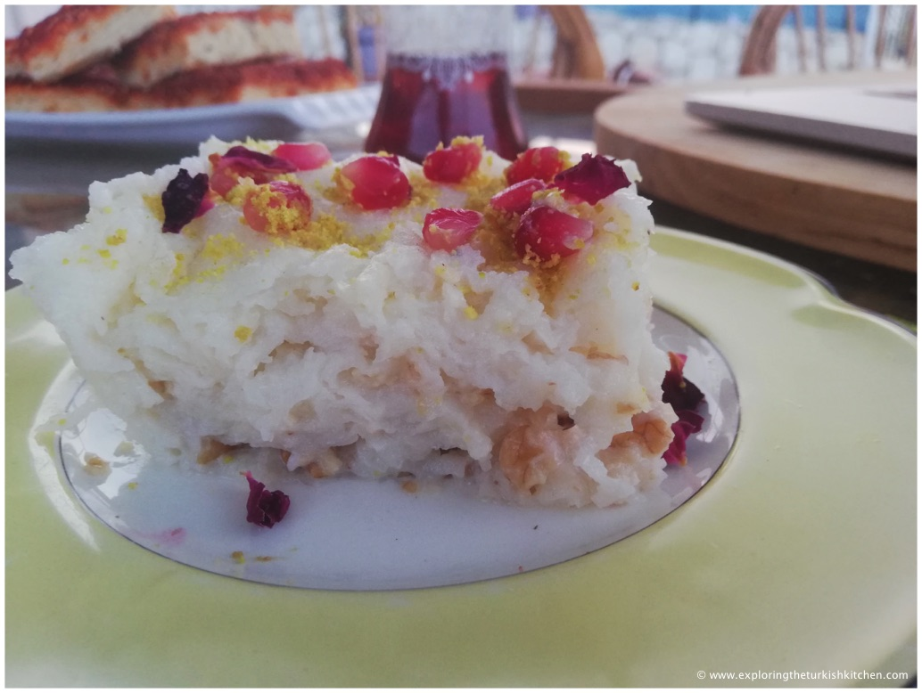 Güllaç Turkish Rose Dessert