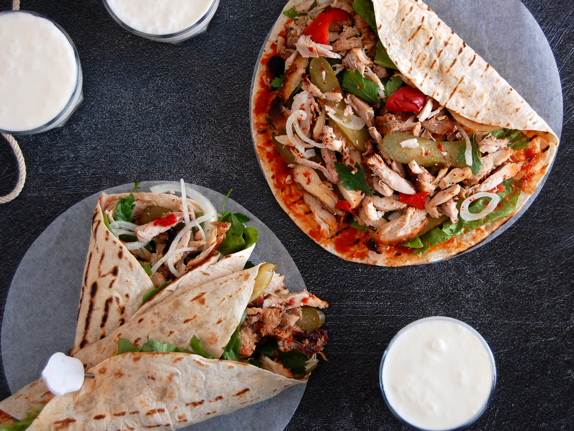Exploringtheturkishkitchen Com Spicy Homemade Chicken Doner Span Class Rt Title Tag Hatay Style Inspired Doner Span