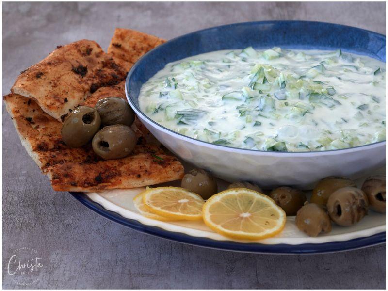 Yoghurt with Cucumber Cacık