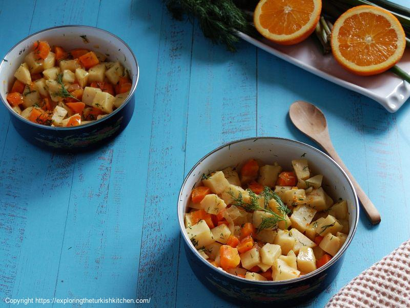 Celeriac with Orange (Kereviz)